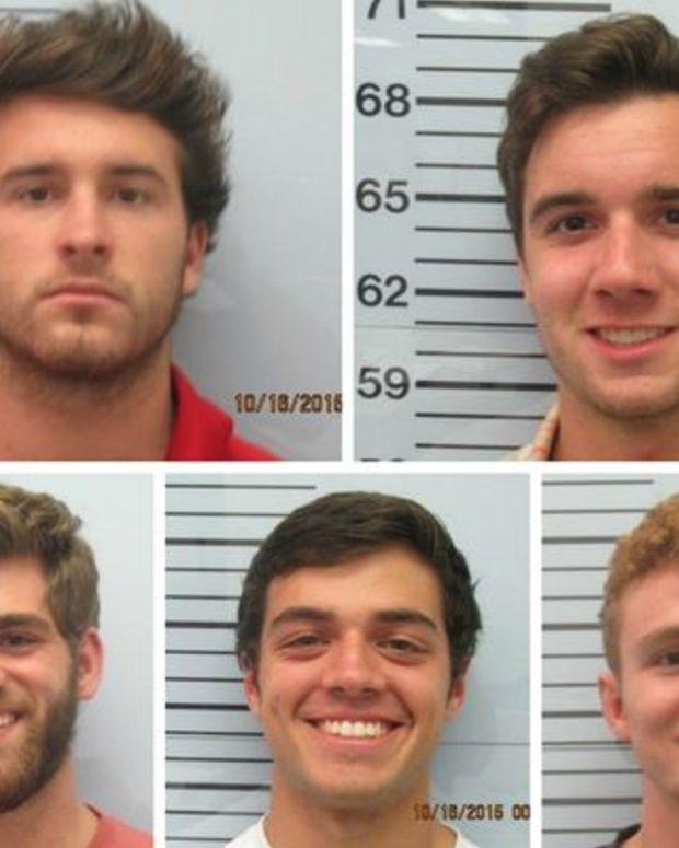 Clockwise from top left: Christian Guy, Austin Rice, Tucker Steil, Kyle Hughes, James Basile