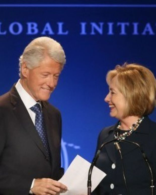 Clinton Foundation Oversaw $2M Pledge To Friend's Firm Promo Image