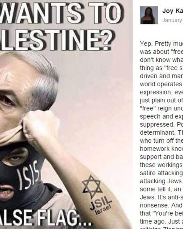 Professor Writes Anti-Semitic Facebook Posts (Photos) Promo Image