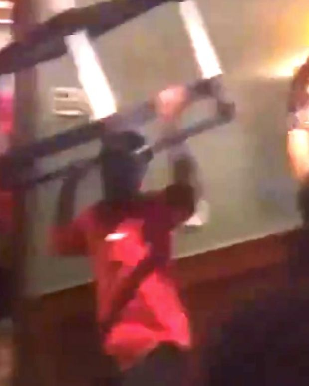 Wild Mother's Day Brawl At Steakhouse (Video) Promo Image