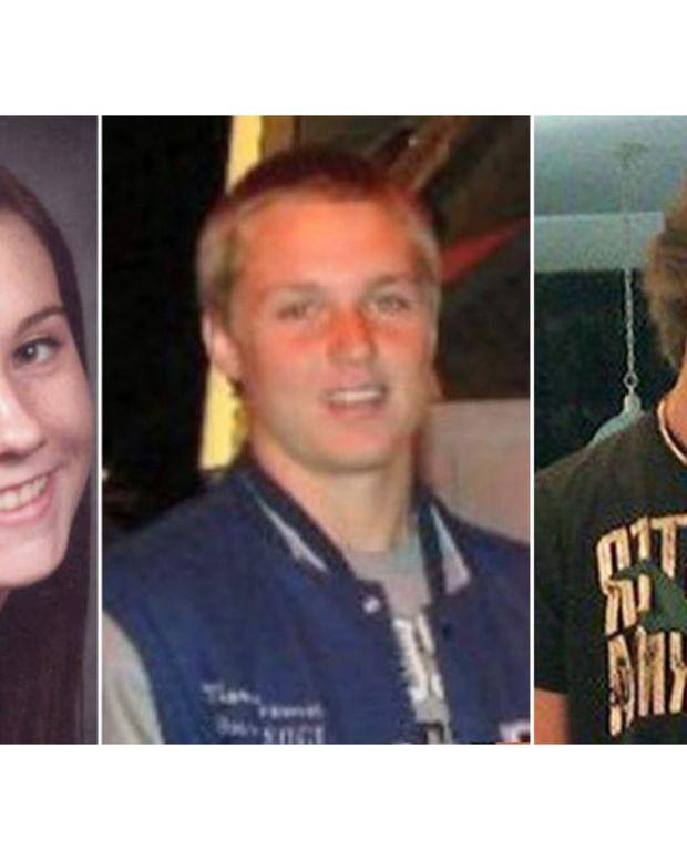Brittany Palumbo, Marcus Freeman and Wesley McKinley