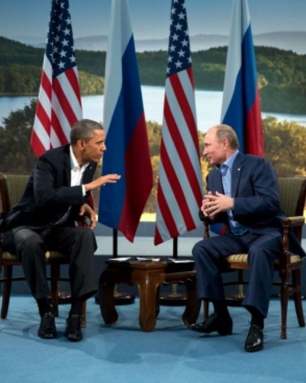 Putin To Obama: Butt Out Promo Image