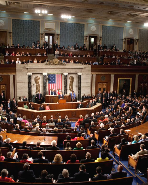 a joint session of the U.S. congress