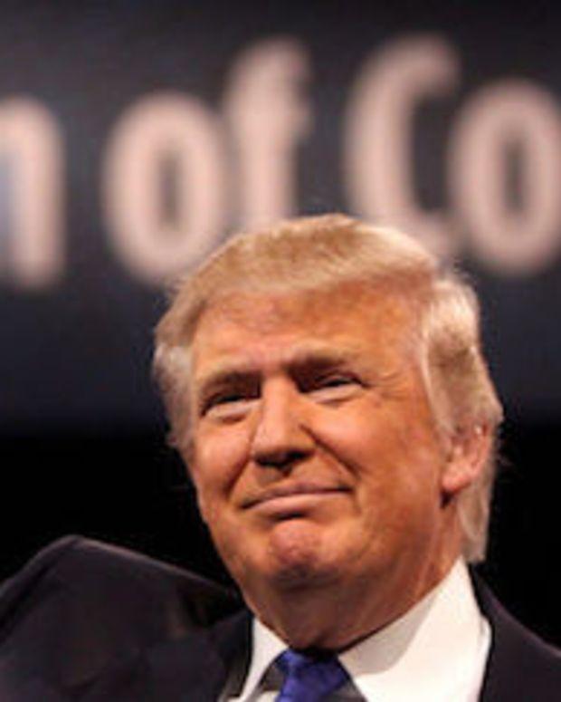 Mike Huckabee Endorses Donald Trump Promo Image