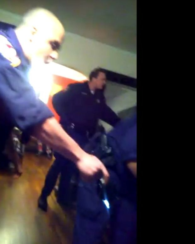 NC Police Smell Marijuana In Home, Chaos Follows (Video) Promo Image