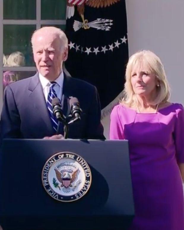 Vice President Joe Biden At The White House.