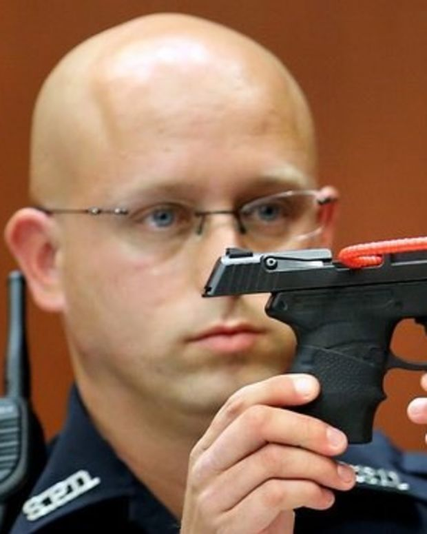 Zimmerman Sells Gun Used To Kill Trayvon Martin Promo Image