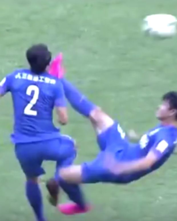 Chinese Soccer Players
