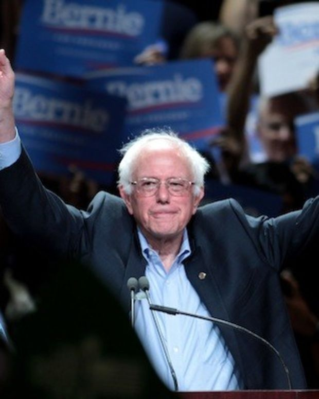 Sanders Raises More Than $43 Million In March Promo Image