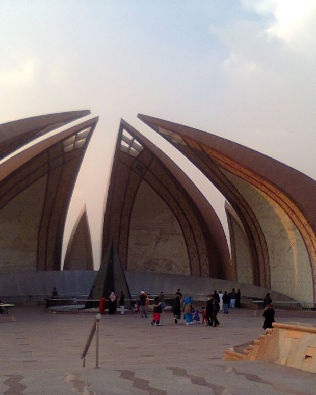 A mosque in Islamabad, Pakistan
