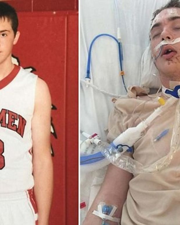 Teen Dies After Hitting His Face During Dunk Attempt Promo Image