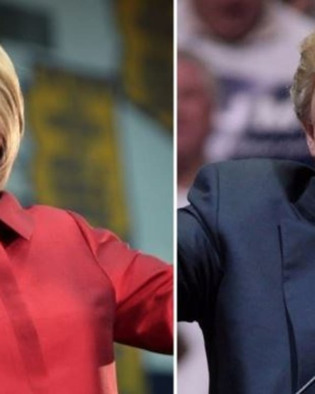 Clinton, Trump Square Off On Assault Rifles Promo Image