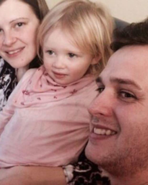Baby Ezra With His Family.