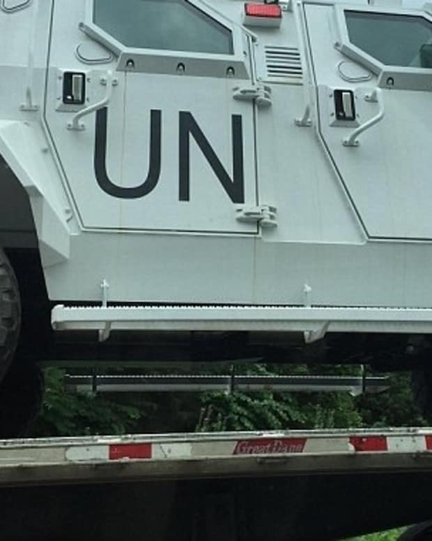 Are These Military UN Trucks In Virginia? Promo Image