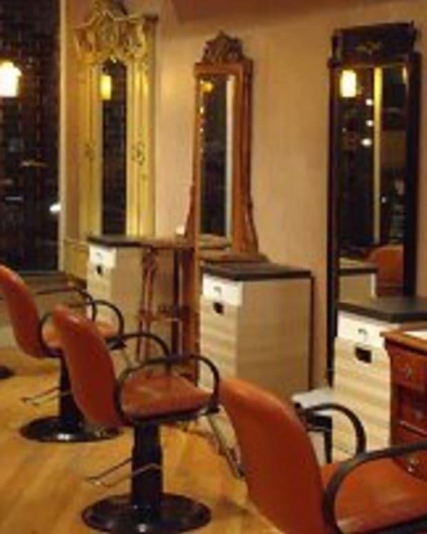 Interior Of Salon Zoe