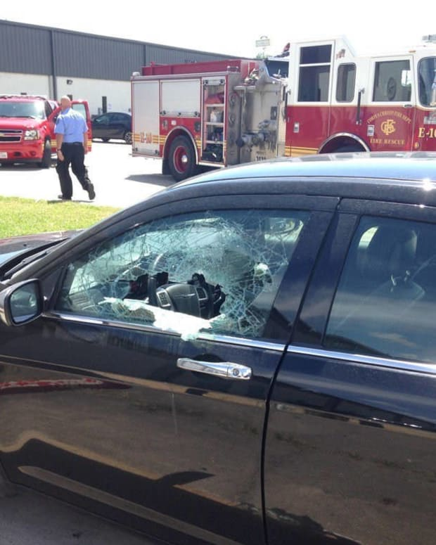 Child Protective Services Employee Locks Baby In Hot Car Promo Image
