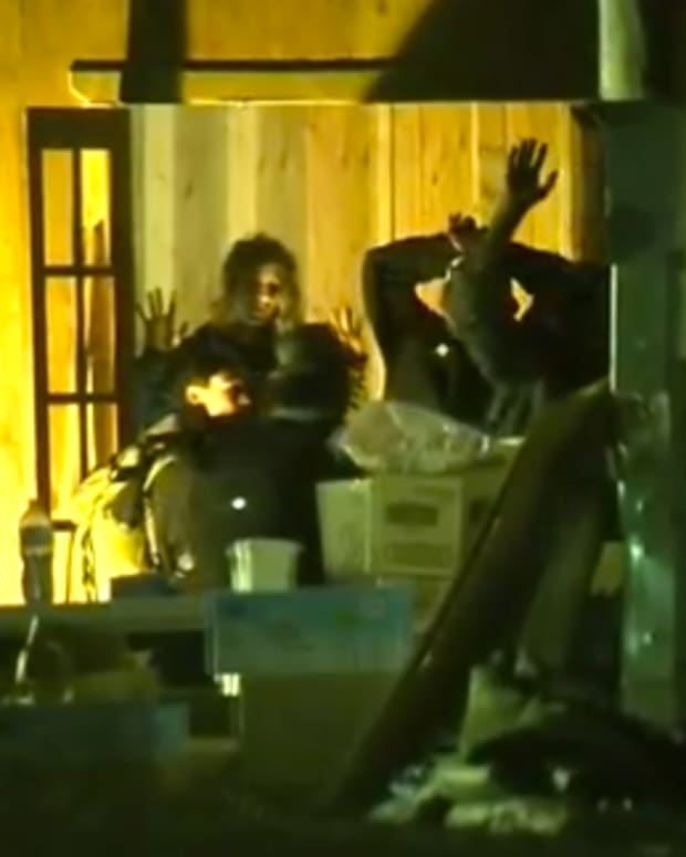 denver police arresting activists