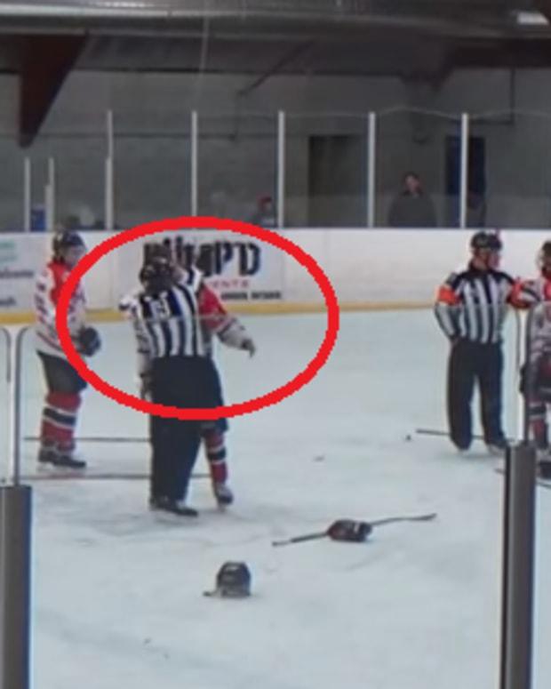 screenshot, hockey brawl