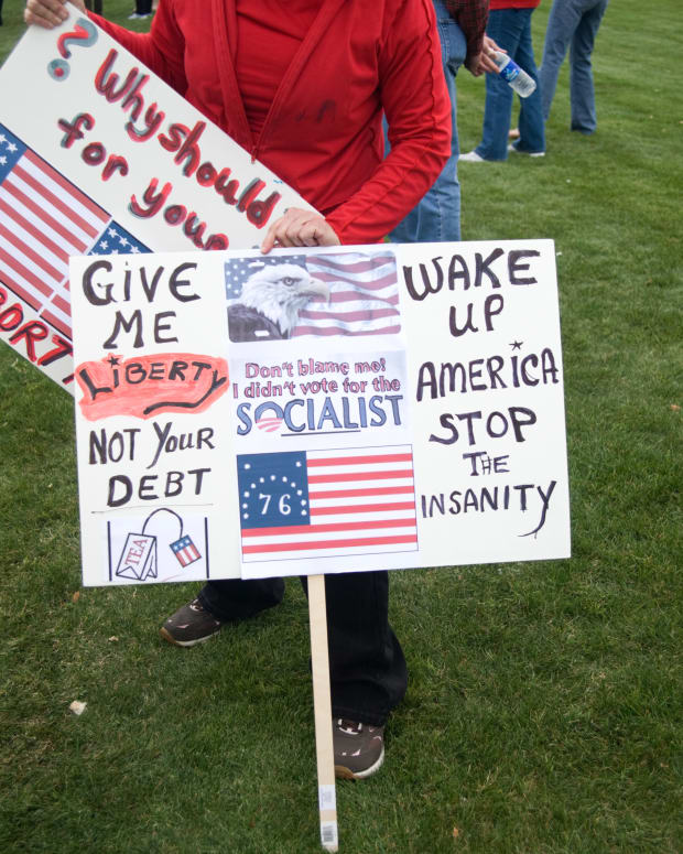 tea party protest signs