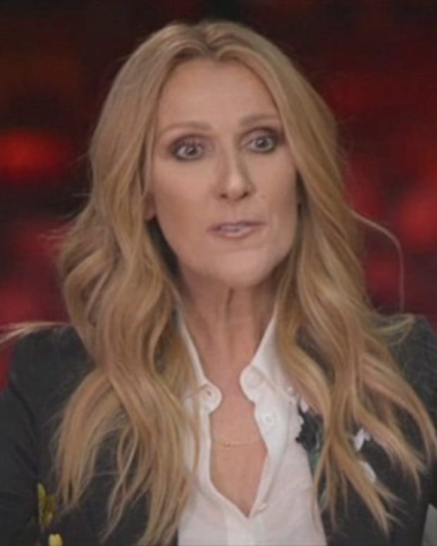 Celine Dion Reveals Last Words To Late Husband Promo Image