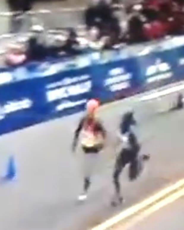 Controversial Win At The NYC Half Marathon (Video) Promo Image
