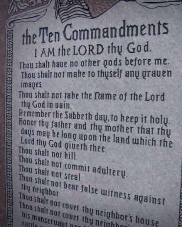Ten Commandment Monument May Return To Oklahoma Capitol Promo Image