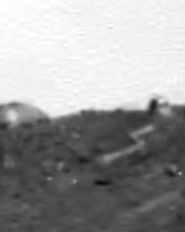 alleged dome on Mars