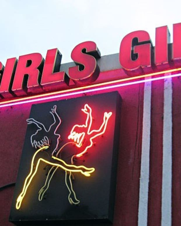 Man Leaves Baby In Car While Visiting Strip Club Promo Image