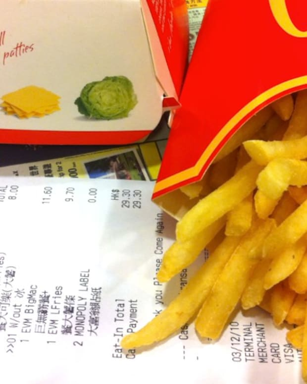 Evangelist Upset By Rainbow-Colored French Fry Boxes Promo Image