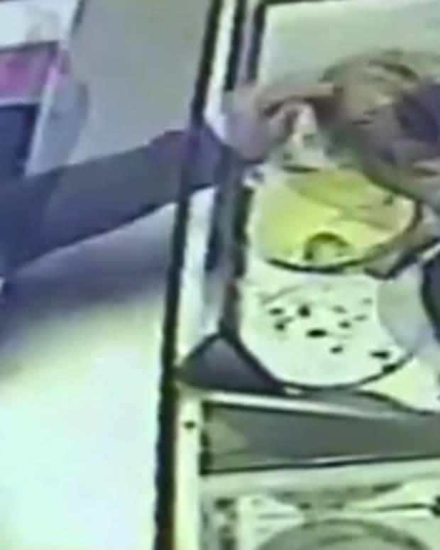 Michigan Mom Accused Of Hitting Ice Cream Worker (Video) Promo Image