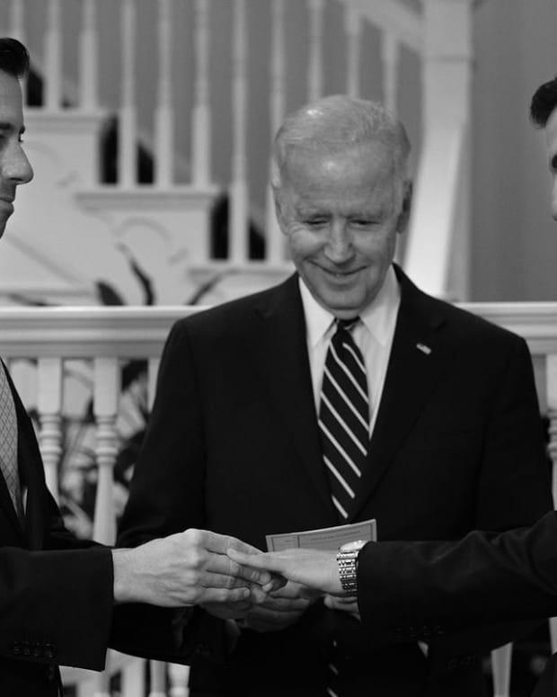 Joe Biden Officiates Same-Sex Wedding  Promo Image