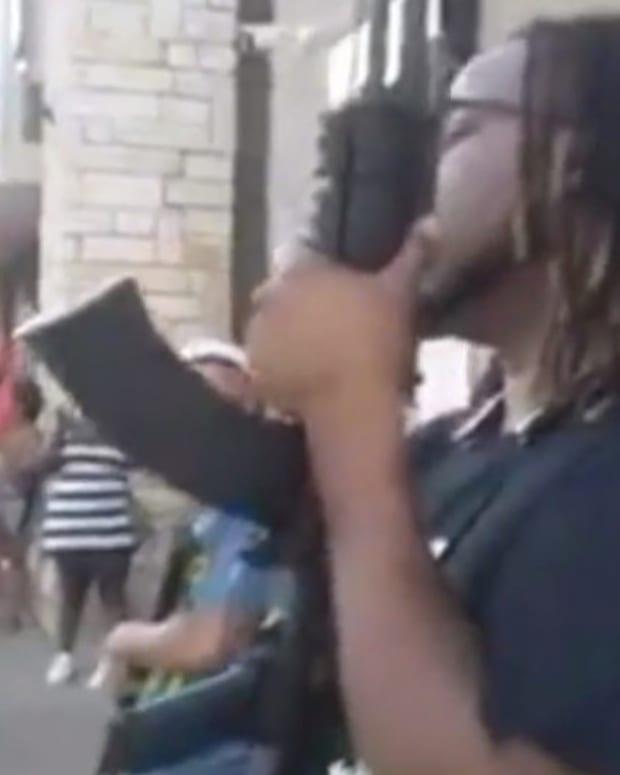 Armed Men Shut Down Gas Station, No Arrests (Video) Promo Image