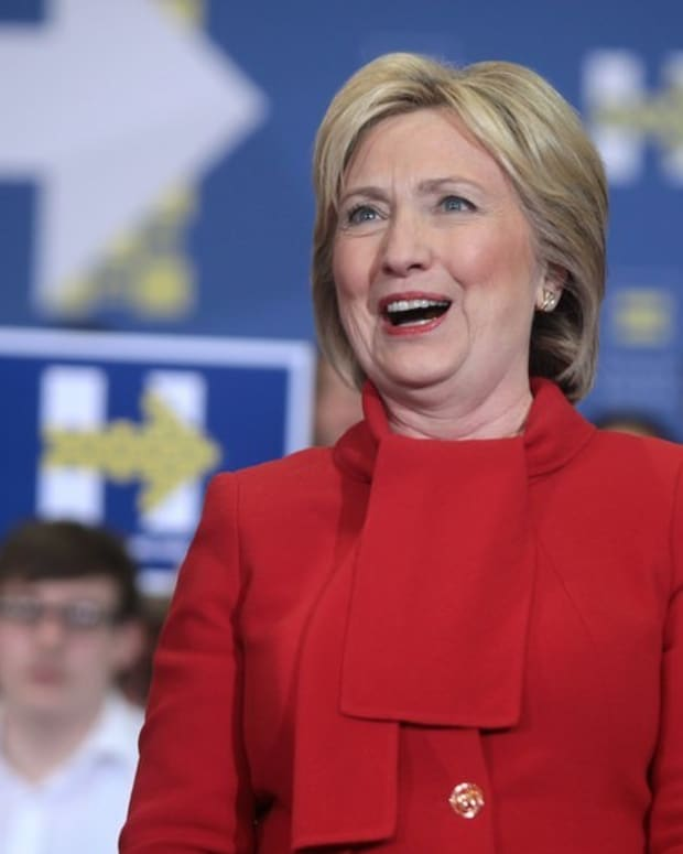 Hillary Clinton To Launch 'Resistance' Organization Promo Image