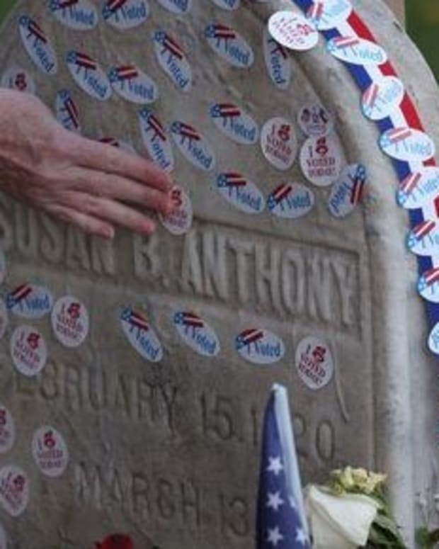 Hundreds Of Women Visit Susan B. Anthony's Grave (Photos) Promo Image