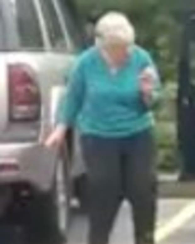 Grandma Dances In Waffle House Parking Lot (Video) Promo Image