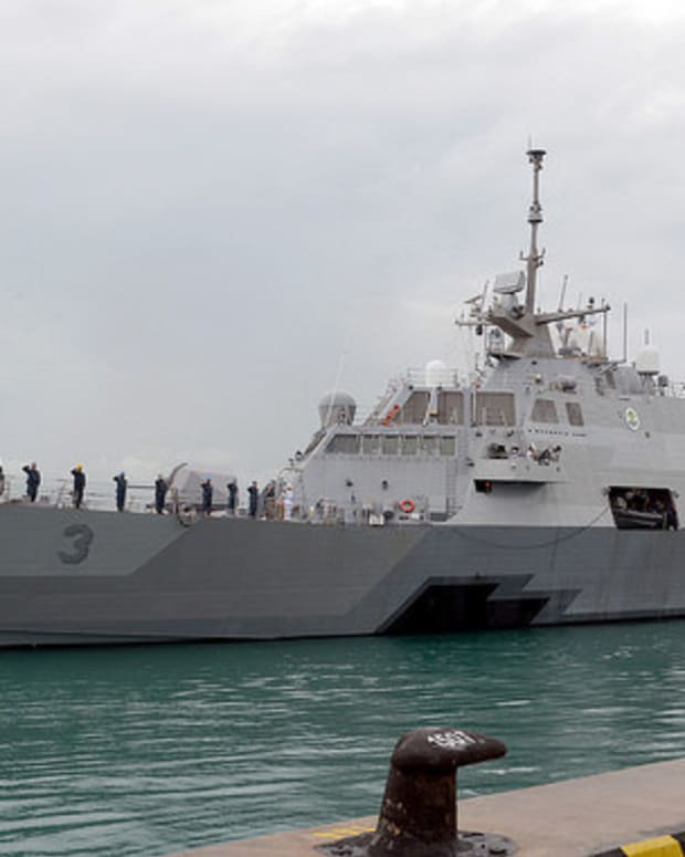 Congress Buys Navy $400 Million Ship It Doesn't Want Promo Image