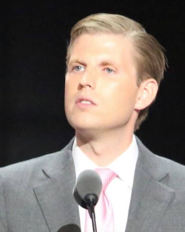 Eric Trump Slams Democrats: 'They're Not Even People' (Video) Promo Image