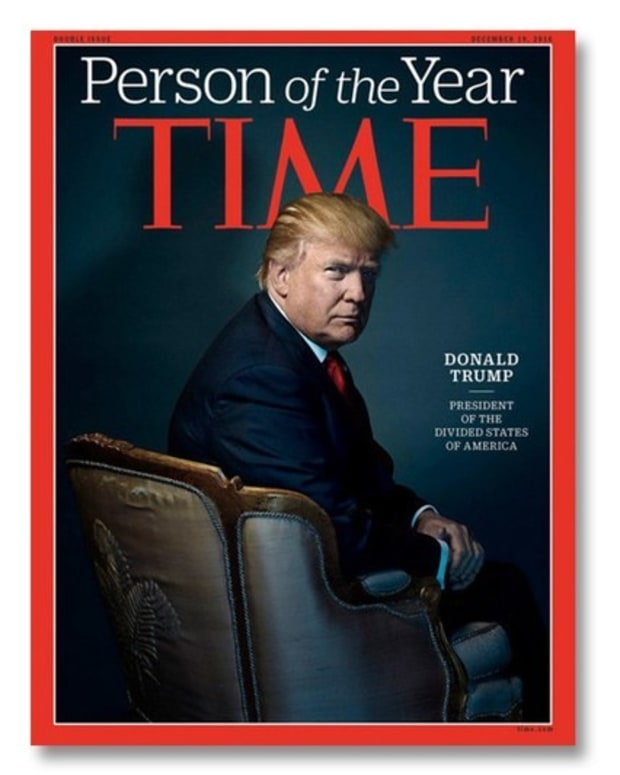 Trump Named Time's Person Of The Year Promo Image