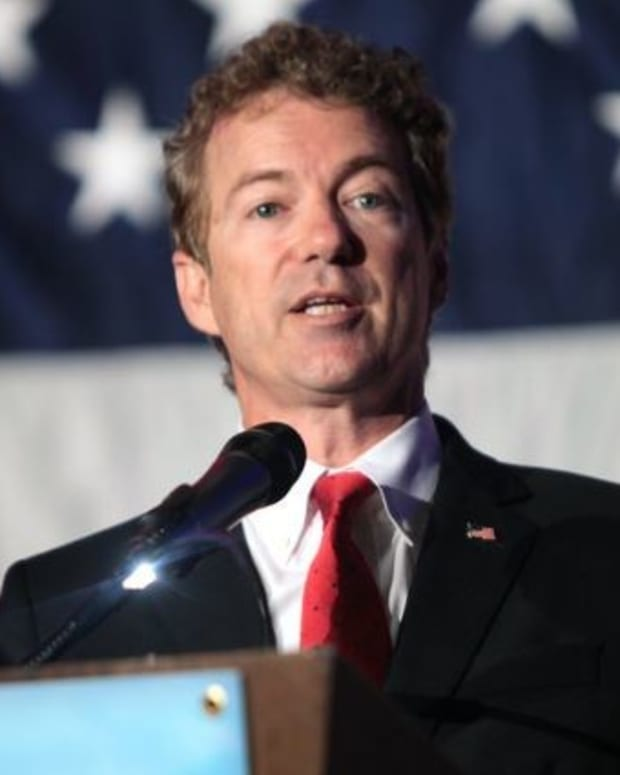Rand Paul Blasts GOP For Hiding New Health Care Bill Promo Image