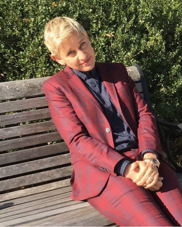Ellen DeGeneres Turned Away From Entering White House Promo Image
