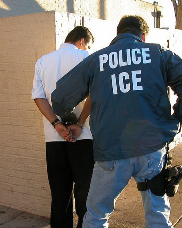 Immigration Arrests On The Rise Under Trump  Promo Image