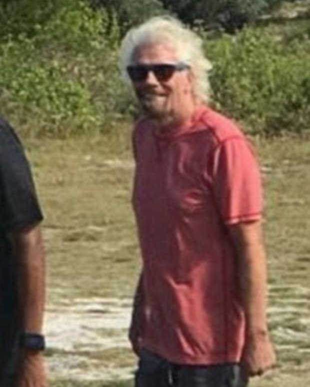 Barack Obama Looks Different On Vacation With Richard Branson (Photos) Promo Image