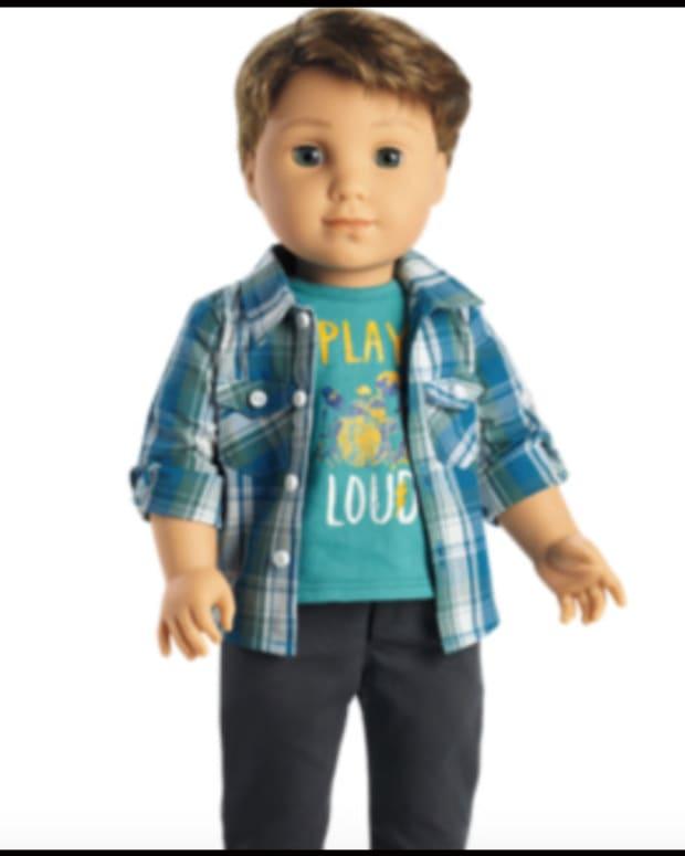 Pastor Upset Over American Girl's New Boy Doll Promo Image