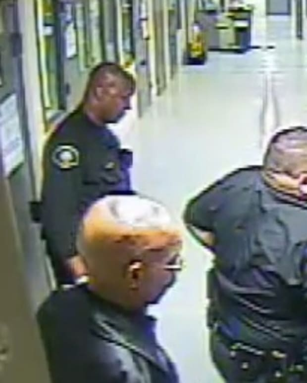 LAPD Officers Smile, Laugh As Man Dies On Floor (Video) Promo Image
