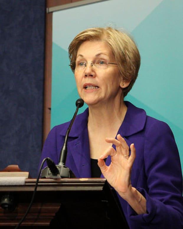 Warren: I Am 'Troubled' By Obama's Wall Street Speech Promo Image