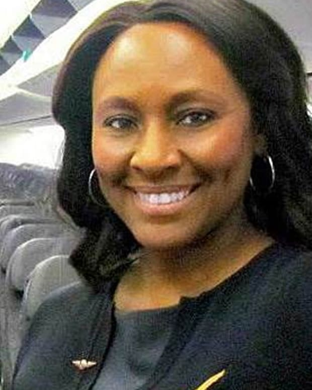 Flight Attendant Saves Girl From Human Trafficker Promo Image