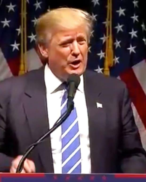 Trump: Non-Christians Raise Your Hands (Video) Promo Image