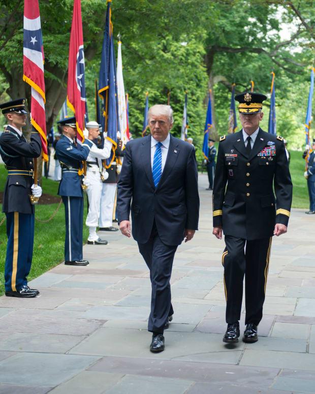 Was Melania Trump At Arlington On Memorial Day? Promo Image