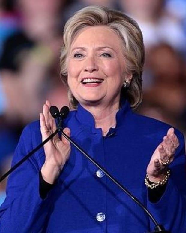 Hillary Clinton Warns Of The 'Epidemic' Of 'Fake News' Promo Image