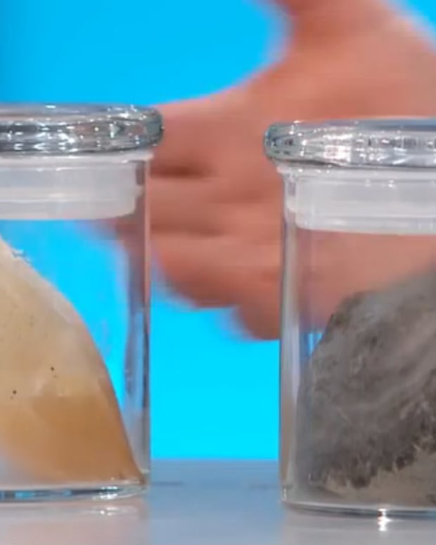 Mold Grows Inside Woman's Breast Implant (Video) Promo Image